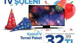 Kablonet 2019 – KabloTV TV Şöleni Kampanyası